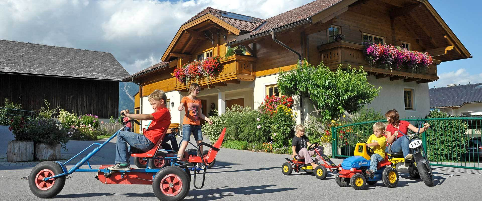 Appartements am Bauernhof in Schladming